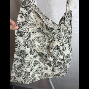 Free People Reusable Shopping Shoulder Bag Gauze